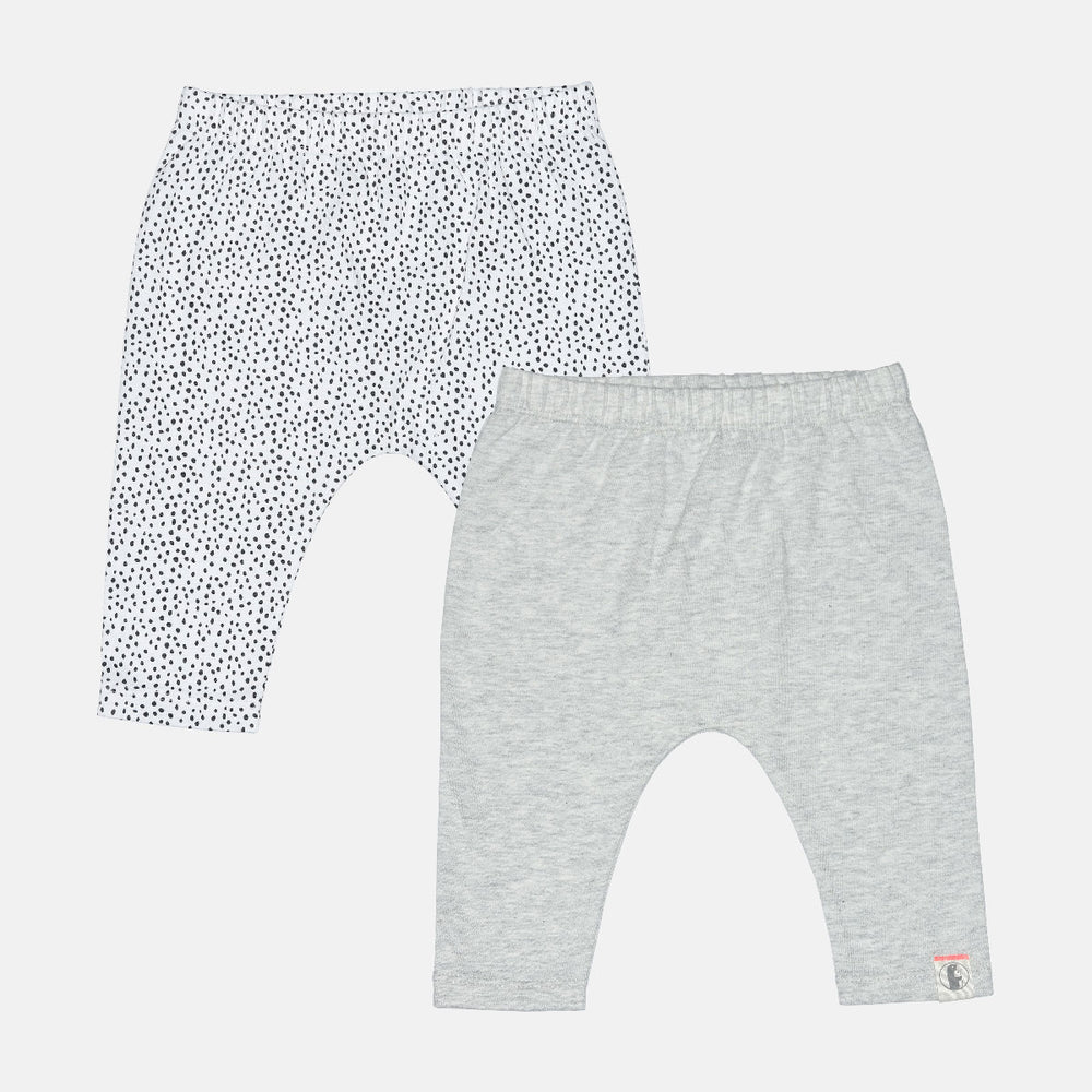 Baby Girls 2 pack pants - Organic Cotton
