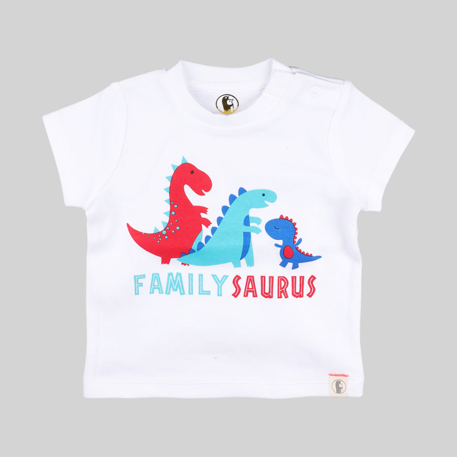 Baby Boys Dino T-Shirt - Organic cotton