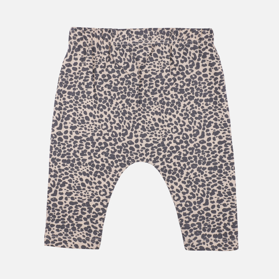 Baby Boy 3 Piece Gentleman Leopard Set - Organic cotton