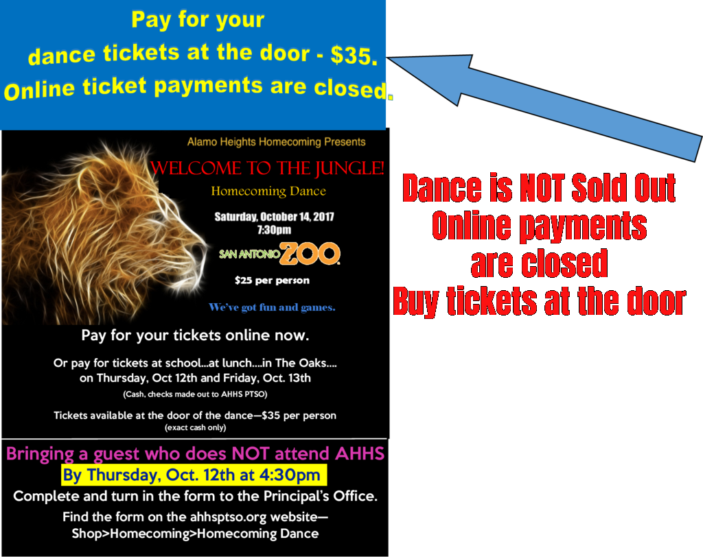 Homecoming Dance Tickets
