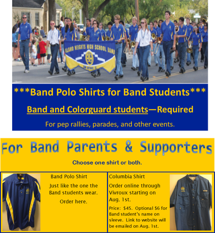 Band Polo Shirt