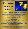 Theatre Booster Club of AHHS - Memberships/Sponsorships from $20-$100+
