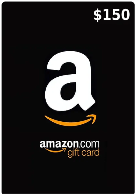 150$ Amazon Gift Card (Email Delivery - US Only)