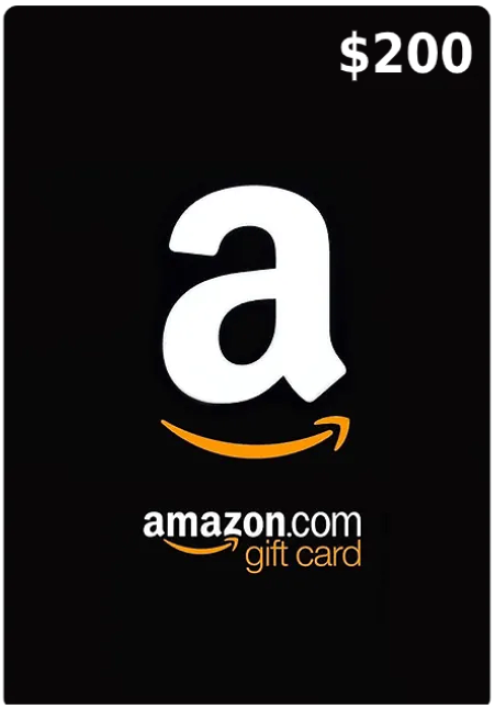200$ Amazon Gift Card (Email Delivery - US Only)