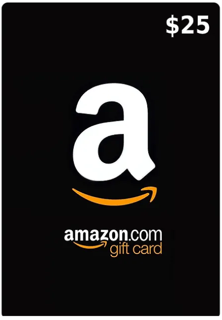 25$ Amazon Gift Card (Email Delivery - US Only)