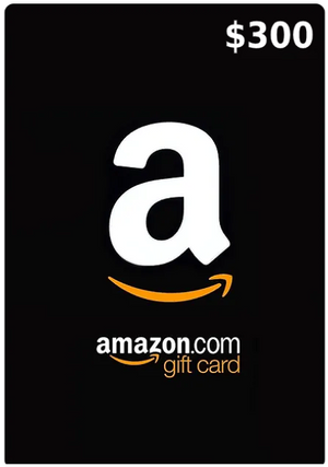 300$ Amazon Gift Card (Email Delivery - US Only)