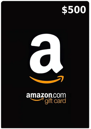 500$ Amazon Gift Card (Email Delivery - US Only)