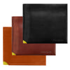 Bond and Knight wallet in chesnut and yellow