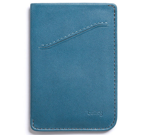 Picture of Bellroy card holder Card Sleeve in arctic blue