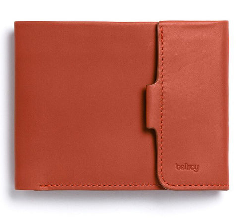 Picture of Bellroy Coin Fold wallet in tamarillo
