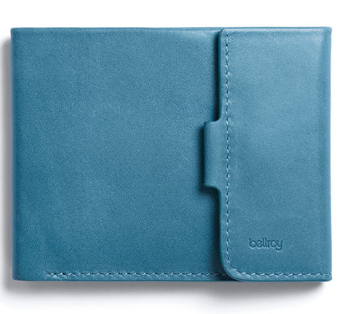 Picture of Bellroy Coin Fold wallet in arctic blue