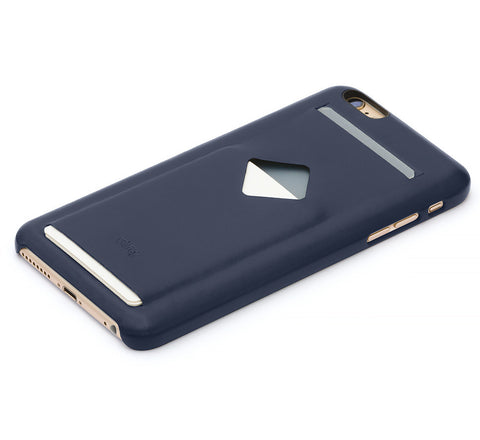 Picture of Bellroy Phone Case (3 card) for iPhone 6/6S Plus in blue steel