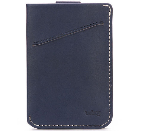 Picture of Bellroy card holder Card Sleeve in blue steel