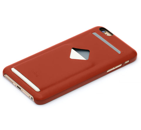 Picture of Bellroy Phone Case (3 card) for iPhone 6/6S Plus in tamarillo