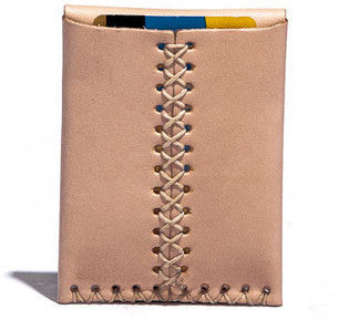 Billykirk 'Card case' card holder in natural