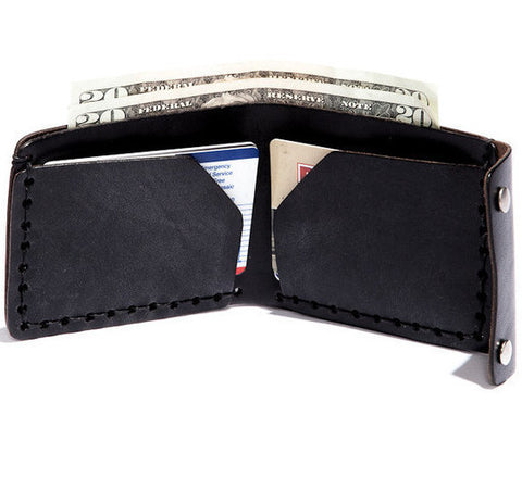 Billykirk 'Bifold wallet' in black