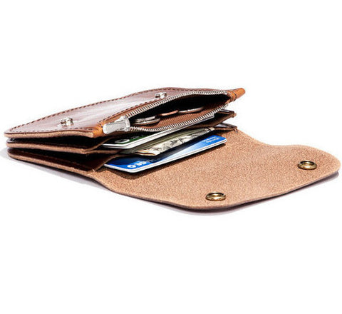 Billykirk 'Trucker Wallet' in tan