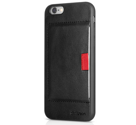 Picture of Distil Union Wally Case iPhone 6 wallet in black