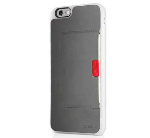 Picture of Distil Union Wally Case iPhone 6 Plus wallet in grey