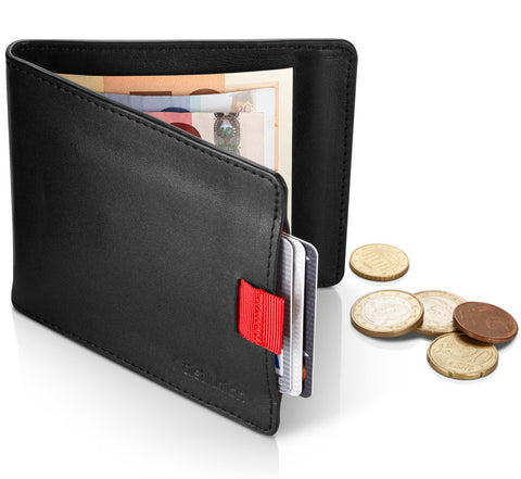 Picture of Distil Union Wally Euro Wallet with coin pocket in black