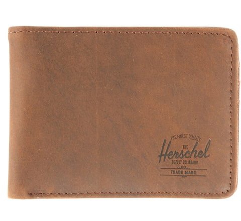 Picture of Herschel 'Hank' leather wallet in brown