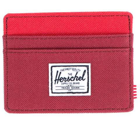 Picture of Herschel card holder 'Charlie' in burgundy / red