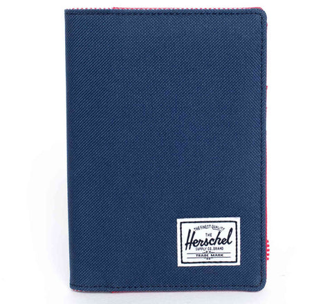 Picture of Herschel Raynor passport holder in navy / red