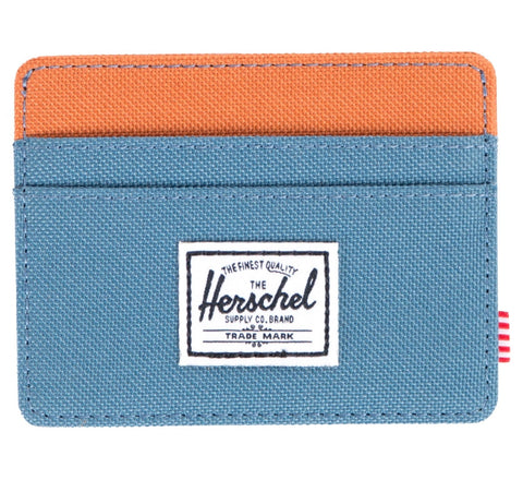 Picture of Herschel card holder 'Charlie' in cadet / carrot