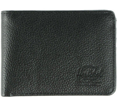 Picture of Herschel 'Hank' leather wallet in black
