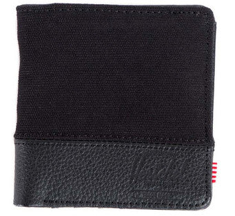 Picture of Herschel 'Kenny Leather' wallet in black
