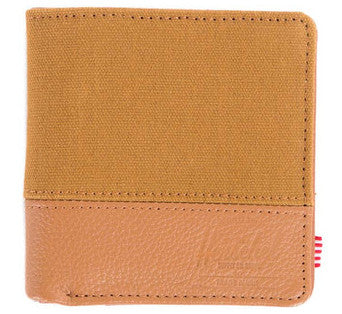 Picture of Herschel 'Kenny Leather' wallet in caramel