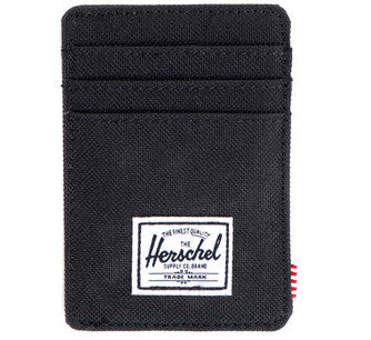 Picture of Herschel card holder 'Raven' in black