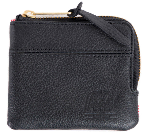 Picture of Herschel wallet 'Johnny Leather' in black