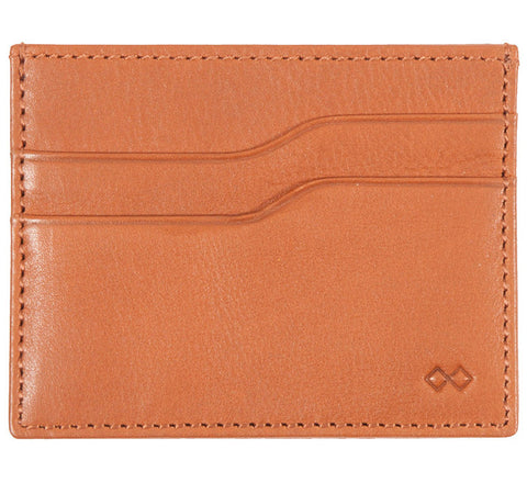 Picture of Issara minimalist wallet in cognac