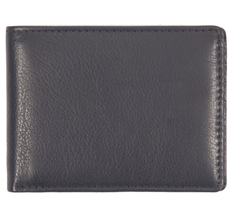 Picture of Issara slim bifold wallet in navy