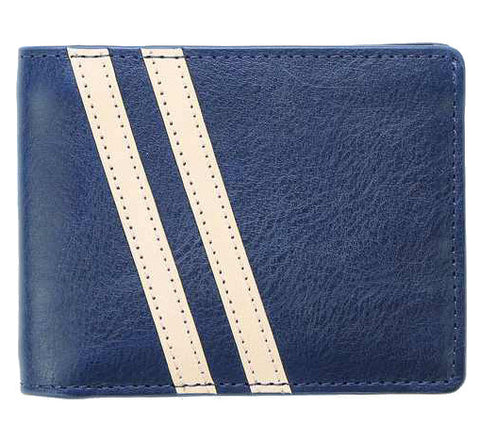 Picture of J Fold Roadster Slimfold wallet in navy