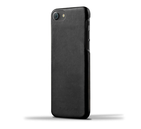 Picture of Mujjo iPhone 7 case in black