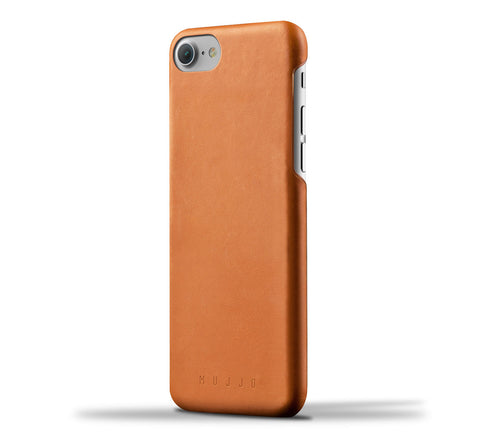 Mujjo iPhone 7 / iPhone 8 case in tan