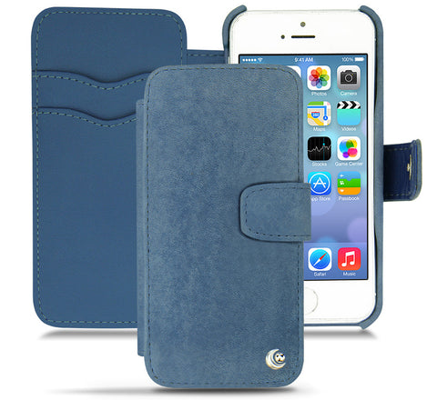 Picture of Noreve iPhone 5/5S 'Tradtional B' wallet case in jean vintage