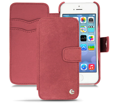 Picture of Noreve iPhone 5/5S 'Tradtional B' wallet case in passion vintage