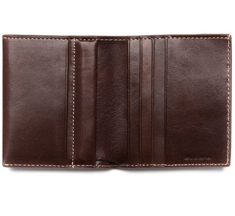 Status Anxiety Daniel wallet in chocolate