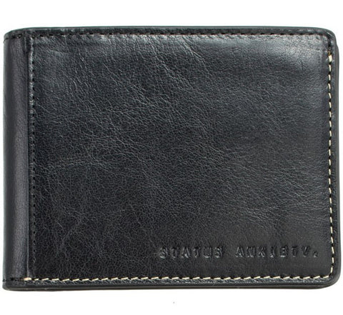 Picture of Status Anxiety 'Ethan' wallet in black