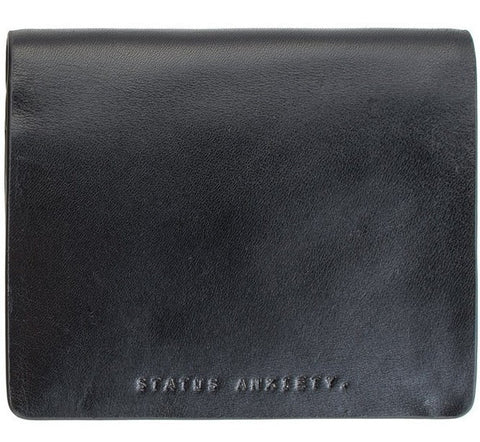 Picture of Status Anxiety 'Nathaniel' wallet in black