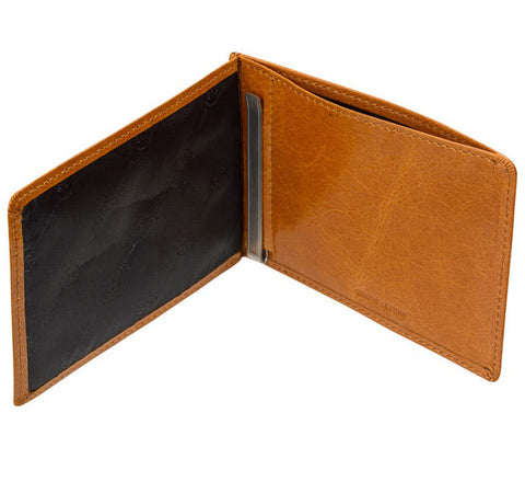 Picture of Status Anxiety 'Perez' wallet in tan