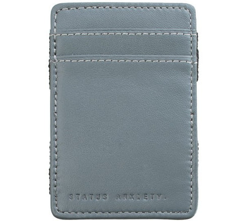 Picture of Status Anxiety 'Flip' wallet in grey