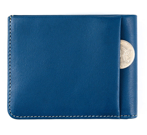 Status Anxiety wallet Alfred in blue