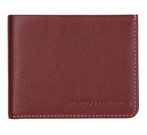 Picture of Status Anxiety wallet Alfred in cognac