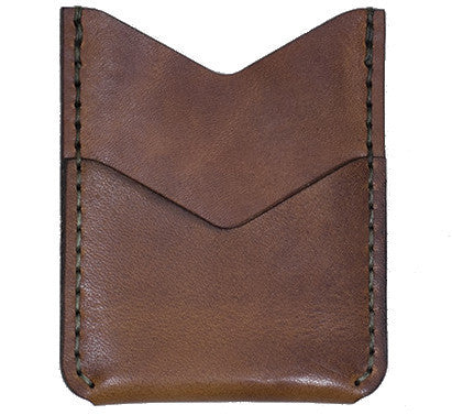 Picture of Winter Session 'Slash Wallet' card holder in brown