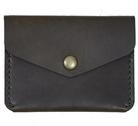 Picture of Winter Session 'Snap Wallet' olive green