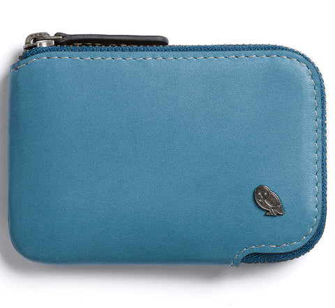 Picture of Bellroy Card Pocket wallet in arctic blue